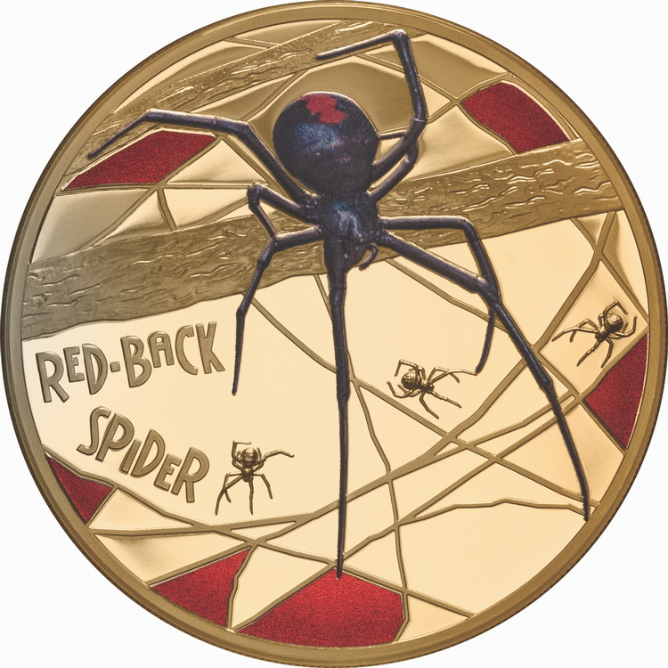 Niue_2020_Red-Back_Spider_$500_5_Troy_Ounce_Pure_Gold_Proof_with_Color_and_Edge_Numbering_Mintage_50