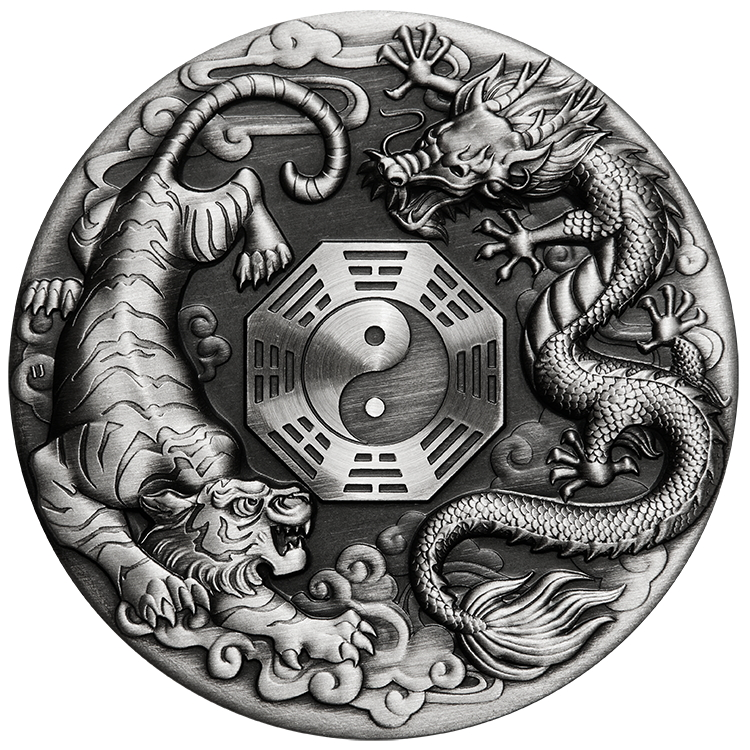 Tuvalu_2021_Dragon_and_Tiger_$2_2_Oz_Silver_Antiqued_Finish_Piedfort_Mintage_888